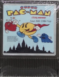 Super Pac-Man Box Art