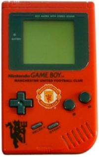 Nintendo Game Boy (Manchester United / purple box) Box Art