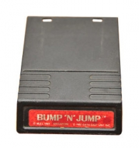 Bump 'n' Jump (red label) Box Art