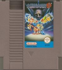 Mega Man 3 Box Art