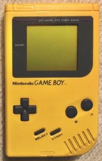Nintendo Game Boy (Play It Loud / Banana Yellow) [EU] Box Art