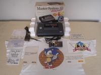 Tec Toy Sega Master System III Compact - Alex Kidd in Miracle World (Kit Sonic) Box Art
