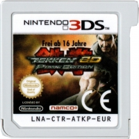 Tekken 3D - Prime Edition [DE] Box Art