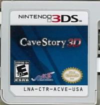Cave Story 3D Box Art