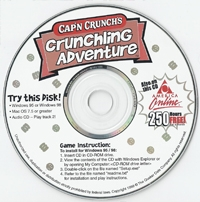 Cap'N Crunch's Crunchling Adventure Box Art