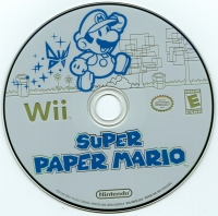 Super Paper Mario Box Art