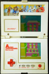 Agence tous Risques Barracuda (Double Ecran Geant) Box Art