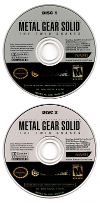 Metal Gear Solid: The Twin Snakes Box Art