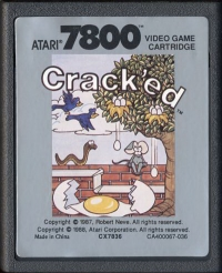 Crack'ed Box Art