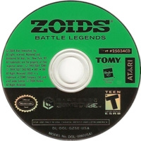 Zoids: Battle Legends Box Art