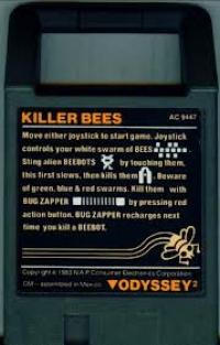 Killer Bees! Box Art