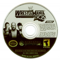 WWE WrestleMania X8 Box Art