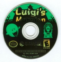 Luigi's Mansion Box Art