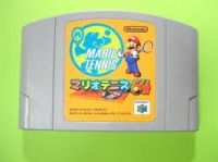 Mario Tennis 64 Box Art