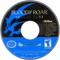 Bloody Roar: Primal Fury Box Art