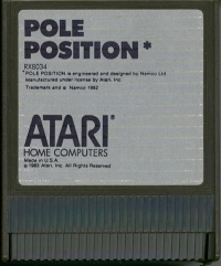 Pole Position Box Art