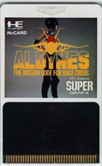 Aldynes: Mission Code for Rage Crisis Box Art