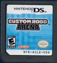 Custom Robo Arena Box Art