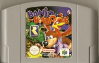 Banjo-Kazooie Box Art