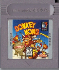 Donkey Kong - Players Choice Box Art