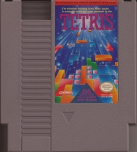 Tetris (Red Stripe) Box Art
