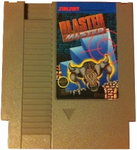 Blaster Master (round seal) Box Art