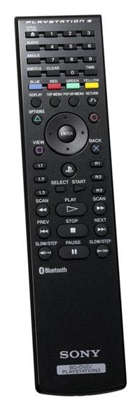 PlayStation 3 Blu-ray Disc Remote Box Art