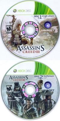 Assassin's Creed III Box Art