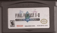 Final Fantasy I & II: Dawn of Souls Box Art