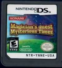 Magician's Quest: Mysterious Times Box Art