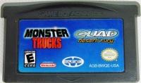 2 Games In 1 Double Value!: Monster Trucks / Quad Desert Fury Box Art