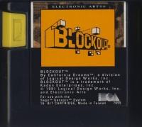 Blockout (orange label) Box Art