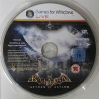 Batman: Arkham Asylum Box Art