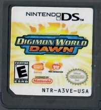 Digimon World: Dawn Box Art