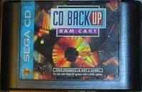 Sega CD Back Up RAM Cart Box Art