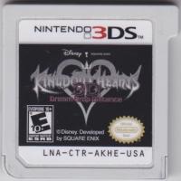 Kingdom Hearts 3D: Dream Drop Distance Box Art