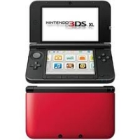 Nintendo 3DS XL - Red/Black [NA] Box Art