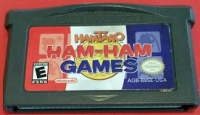 Hamtaro: Ham-Ham Games Box Art