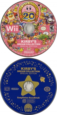 Kirby's Dream Collection: Special Edition Box Art