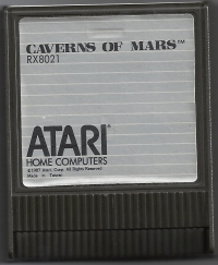 Caverns of Mars Box Art