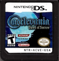 Castlevania: Dawn of Sorrow Box Art