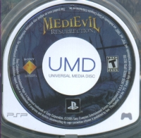 MediEvil: Resurrection Box Art
