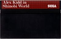 Alex Kidd in Shinobi World (6 languages) Box Art