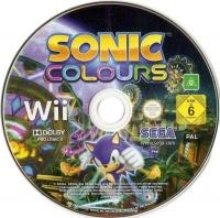 Sonic Colours Box Art