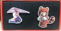 Mario Kart 7 + Super Mario 3D Land Pins Set Box Art