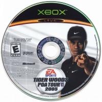 Tiger Woods PGA Tour 2005 Box Art
