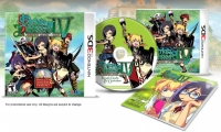 Etrian Odyssey IV: Legends of the Titan (Music CD & Design Book Inside) Box Art