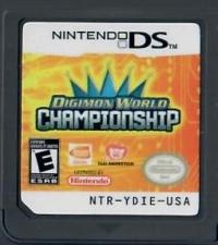 Digimon World Championship Box Art