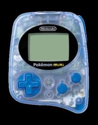 Nintendo Pokémon Mini (Wooper Blue) Box Art