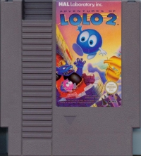 Adventures of Lolo 2 Box Art
